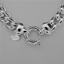 Collana e bracciale in argento 925