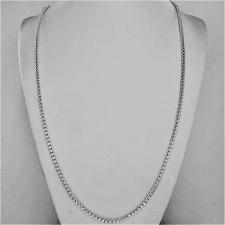 Collana uomo maglia veneziana tonda misura piccola, in argento massiccio. Larghezza 2,5mm. Lunghe...