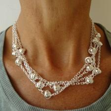Solid sterling silver necklace