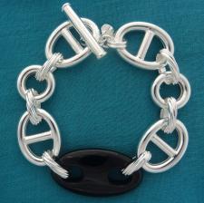 Bracciali artigianali in argento 925