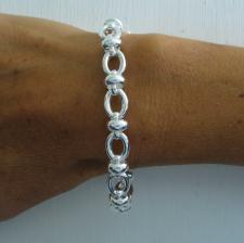 Handmade silver bracelet for women
