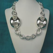 Sterling silver marina necklace