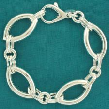 Silver women's bracelet made in Italy.