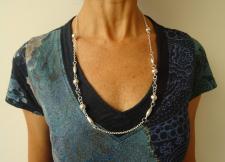Collana cm 70 argento 925.