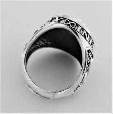 Anello nodo argento