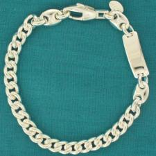 Curb bracelet for men