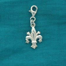 Ciondolo giglio in argento 925 - Charme in argento 925