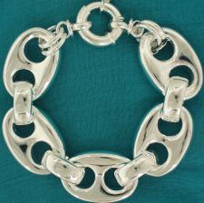 Mariner bracelet in sterling silver