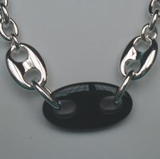 Sterling silver nautical necklace