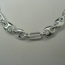 Vendita collana uomo in argento.