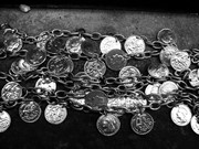 bracelet with coins