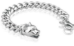 Bracelet 925 silver with panther head