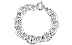 Bracciale argento 925 traversino eccellenza
